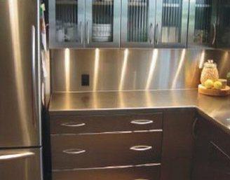 Кухонные столешница из нержавеющей стали кухонная столешница постформинг глянец
